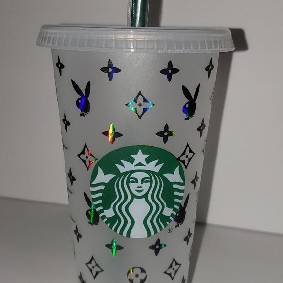 Starbucks Cup Louis Vuitton/ Playboy